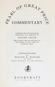 Cover of: Pearl of great price commentary