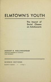 Cover of: Elmtown's youth