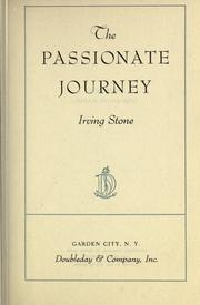 Cover of: The passionate journey