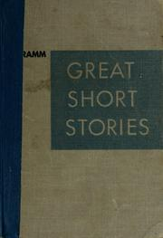 Cover of: Great short stories
