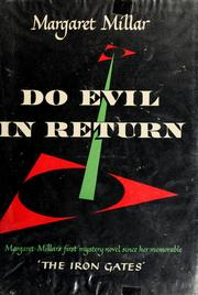 Cover of: Do evil in return