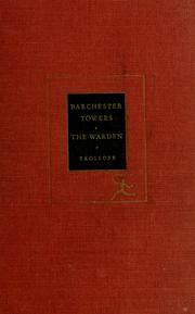 Cover of: Barchester Towers and the Warden