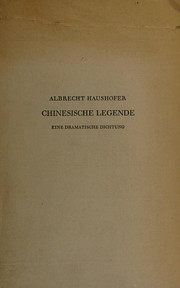 Cover of: Chinesische Legende