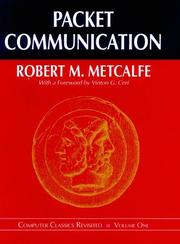 Cover of: Packet communication