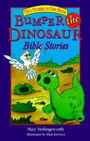 Cover of: Bumper the dinosaur Bible stories: two stories in one book