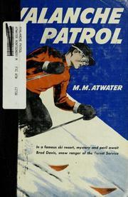 Cover of: Avalanche patrol