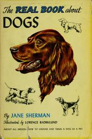 Cover of: The real book about dogs