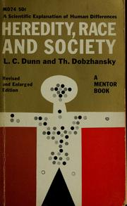 Cover of: Heredity, race, and society