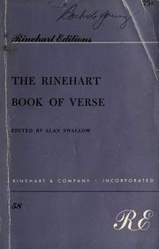 Cover of: The Rinehart book of verse