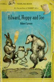Cover of: Edward, Hoppy, and Joe