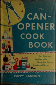 Cover of: The can-opener cookbook