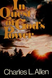 Cover of: In quest of God's power