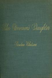 Cover of: The Governor's daughter