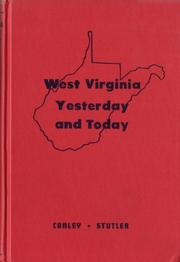Cover of: West Virginia yesterday and today