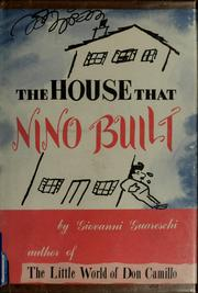 Cover of: The house that Nino built