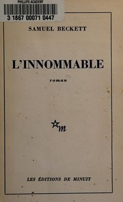 Cover of: L' innommable