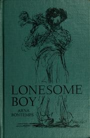 Cover of: Lonesome boy