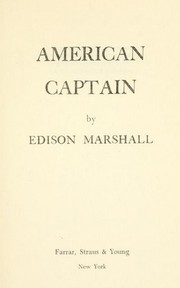 Cover of: American captain