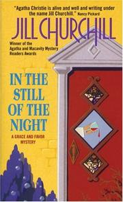 Cover of: In the still of the night: a Grace and Favor mystery