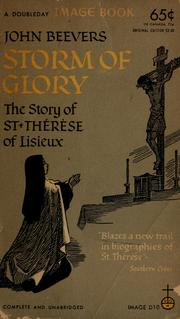 Cover of: Storm of glory