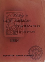 Cover of: Readings in Latin-American civilization, 1492 to the present