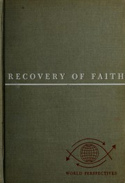 Cover of: Recovery of faith