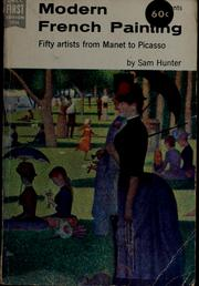 Cover of: Modern French painting, 1855-1956