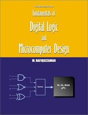 Cover of: Fundamentals of digital logic and microcomputer design