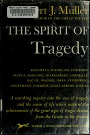 Cover of: The spirit of tragedy