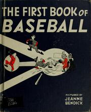 Cover of: The first book of baseball
