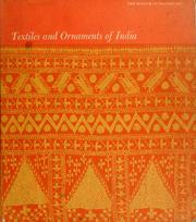 Cover of: Textiles and ornaments of India
