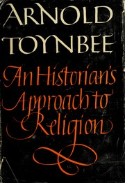 Cover of: An historian's approach to religion