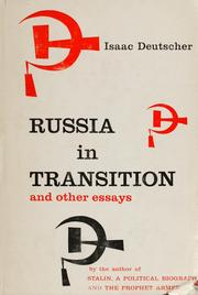 Cover of: Russia in transition