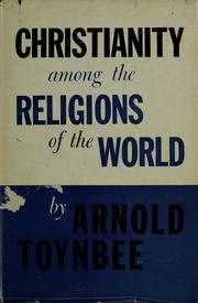Cover of: Christianity among the religions of the world