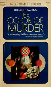 Cover of: Color of Murder