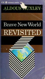 Cover of: Brave New World Revisited