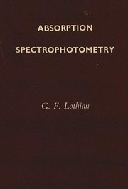 Cover of: Absorption spectrophotometry