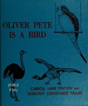 Cover of: Oliver Pete is a bird