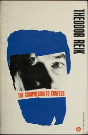 Cover of: The compulsion to confess
