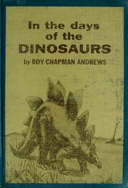 Cover of: In the days of the dinosaurs