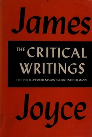 Cover of: The critical writings of James Joyce