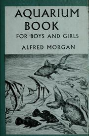 Cover of: Aquarium book for boys and girls