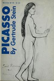 Cover of: Picasso