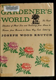 Cover of: The gardener's world