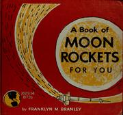 Cover of: A book of moon rockets for you