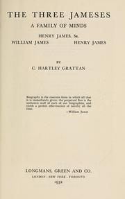 Cover of: The three Jameses