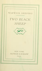 Cover of: Two black sheep