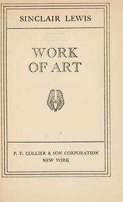 Cover of: Work of art