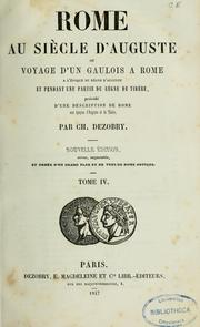 Cover of: Rome au siècle d'Auguste