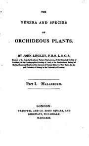 Cover of: The genera and species of orchideous plants